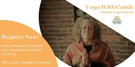 Virtual Yoga Class: All Levels tickets