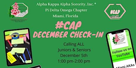 AKA Pi Delta Omega December #CAP Meeting tickets