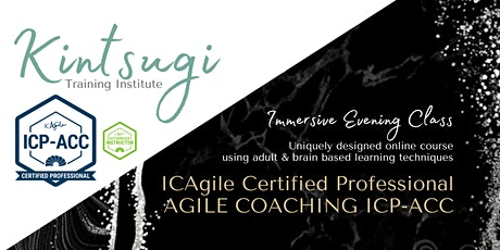 ICAgile Agile Coaching (ICP-ACC) - LIVE Virtual Training Class (Evenings) tickets
