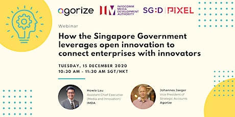 How the Singapore Government  leverages Open Innovation tickets