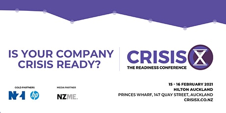 CrisisX: The Readiness Conference tickets