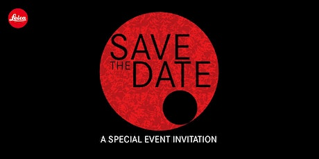 Save The Date (Leica Store Marina Bay Sands) tickets