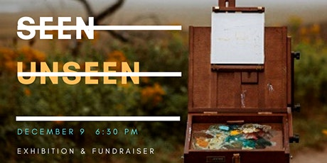 """Seen/Unseen"" Virtual Exhibition & Fundraiser tickets"