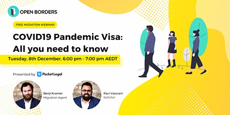 COVID19 Pandemic Visa: All you need to know tickets