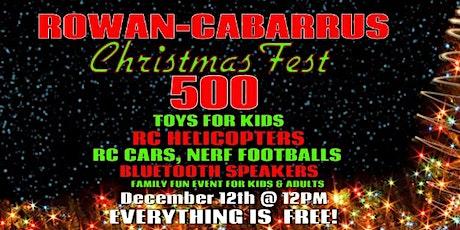Rowan-Cabarrus Christmas Fest tickets