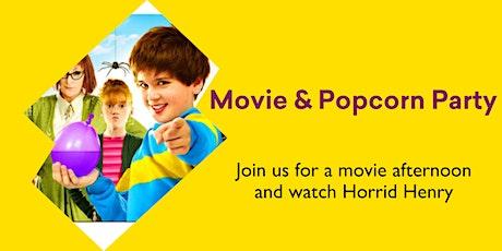 Summer Holiday Program - Movie & Popcorn Party tickets