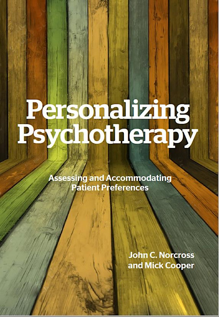 Personalizing Psychotherapy  - Mick Cooper & John Norcross image