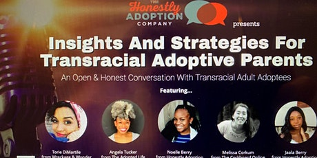 Insights and Strategies for Transracial Adoptive Parents tickets