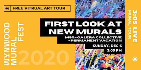 Wynwood Mural Fest Presents // Miami Art Week 2020 New Mural Tour tickets