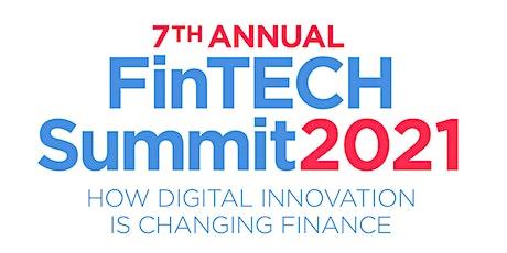 7th Annual FinTech Summit 2021 - LIVE / Online entradas