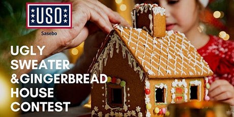 USO Sasebo Ugly Sweater and Gingerbread Decorating Contest tickets