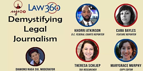 AAJA-NY x Law360: Demystifying Legal Journalism tickets