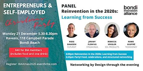 Entrepreneurs & Self-Employed Xmas Party 2020 tickets