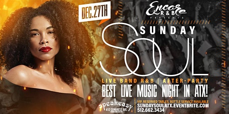 Sunday Soul: Live Band R&B Experience 12/27 tickets