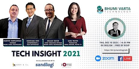 Indonesia TECH Insight 2021 Webinar tickets