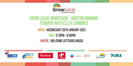Grow Local Workshop - Writing Winning Tenders tickets