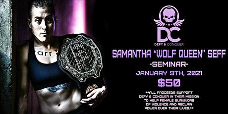 "Samantha ""Wolf Queen"" Seff BJJ Seminar tickets"