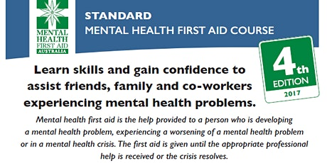 Mental Health First Aid - Byfield tickets