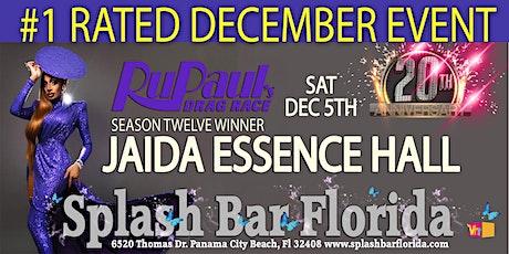 Jaida Essence Hall at Splash Bar tickets