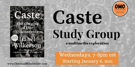 Caste: The Origins of Our Discontents Study Group tickets