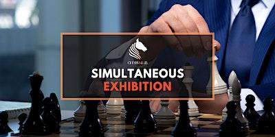 Simultaneous Chess Exhibition by Filip Panchevski (International Master)