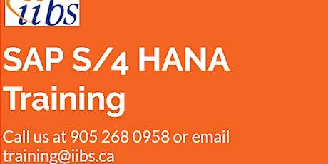 Get certified in SAP S/4 HANA Finance!!! tickets