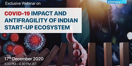 COVID-19 Impact and Antifragility of Indian Start-up Ecosystem tickets
