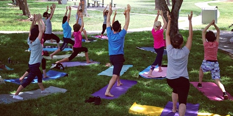 Free Yoga in Perth St Park. Camp Hill. tickets