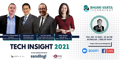 Indonesia TECH Insight 2021 Webinar tickets