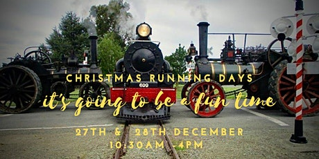 Christmas Running Days, Pleasant  Point Rail tickets