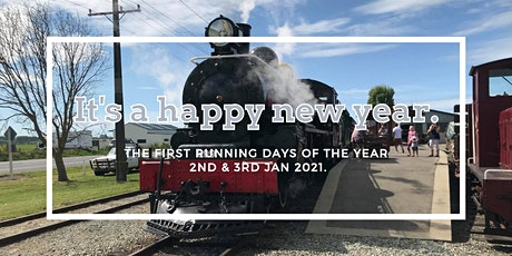 New Year At Pleasant Point Rail tickets