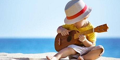 Atelier de ukulele/Vârstă participanți 5+ ani tickets