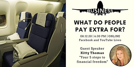 Business Class #9 - 5 steps to financial freedom tickets