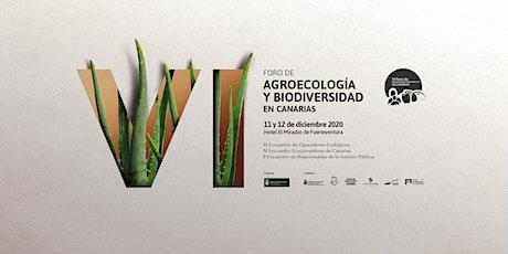 VI Foro Agroecología y Biodiversidad en Canarias. Encuentros Virtuales entradas