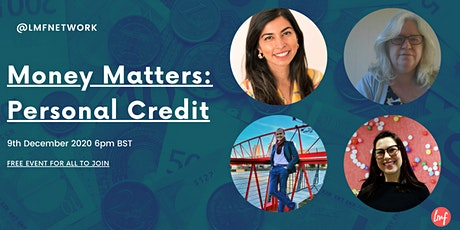 Money Matters : Credit Scores & More tickets