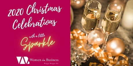 WiB Christmas Celebrations with a little Sparkle! tickets