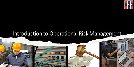 Introduction to Operational Risk Management tickets