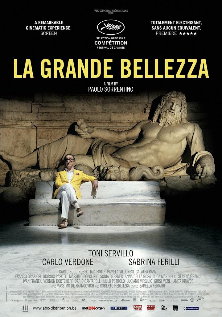 Image pour Le Cinéma du BHV MARAIS - La Grande Belleza -15/12 - 16h