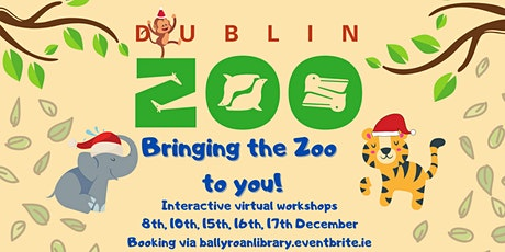 """Dublin Zoo: Bringing the Zoo to You! - """"Ears, Teeth, Tails, and Feet!"""" tickets"""