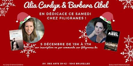 Alia Cardyn & Barbara Abel en dédicace ! billets