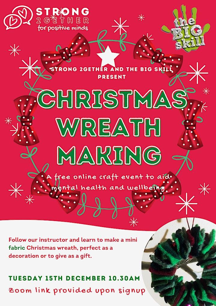 Christmas Wreath Making image
