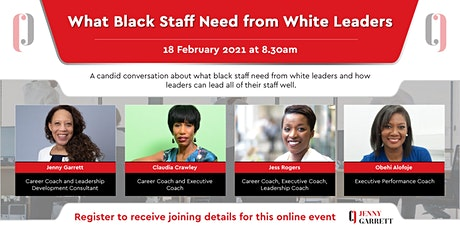 What Black Staff Need from White Leaders tickets