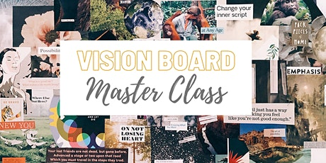 Vision Board Master Class tickets