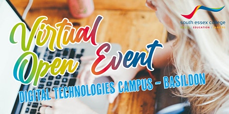 South Essex College Virtual Open Event, Centre for Digital Technologies tickets