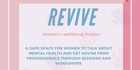 REVIVE Women's Online Mental Wellbeing Support Group Session 1 tickets
