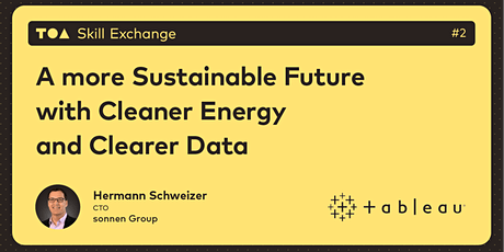A more Sustainable Future with Cleaner Energy and Clearer Data tickets