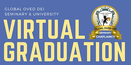 May 21, 2021 GODSU Graduations Virtual tickets