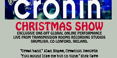 Cronin Global Live stream Christmas gig from Drumlish tickets