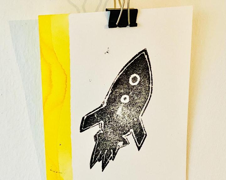 Online-Workshop   Druckwerkstatt I Für 6- bis 14-Jährige: Bild