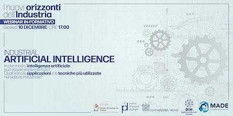 I nuovi orizzonti dell'industria: Industrial Artificial Intelligence biglietti